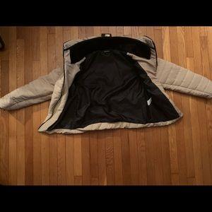 Stone puffer jacket